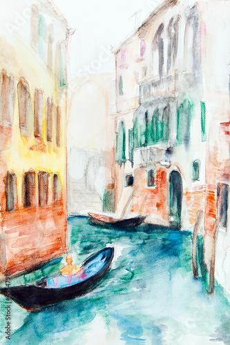 Venedig - Aquarell IV