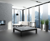 Exclusive Luxury Penthouse Interior | Loft poster