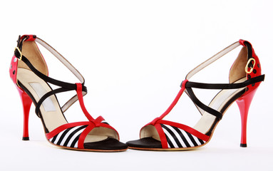 Ein Paar Tango High Heels