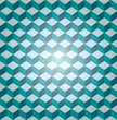 Blue seamless cube pattern