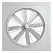 fan on a white background