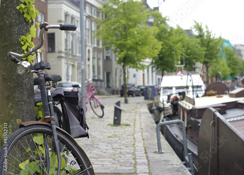 bicycle in Groningen, netherlands