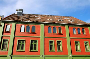 Buntes Haus in Bryggen