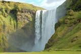 Skogafoss waterfall. poster
