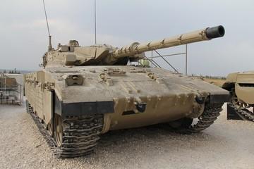 Israeli Merkava Mk  II tank