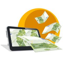 Tablet y dinero