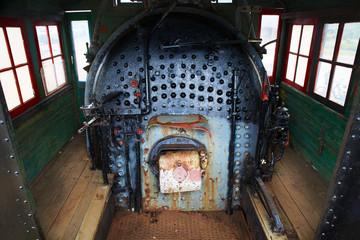 Locomotive Steam Engine Boiler