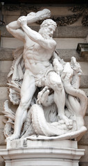 Hercules fighting the Hydra