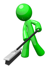 Green Cleaning Man, Environmental Services