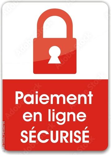 bouton paiement sécurisé en ligne