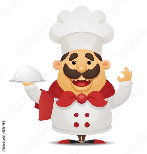 Cartoon Chef Character