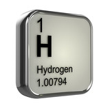 3d Periodic Table - 1 Hydrogen poster