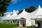 Fototapety Large white party tent