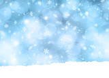 Fototapety Snowflake background