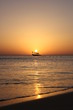 Fishing boat in dawn