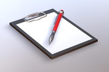 Kugelschreiber Clipboard 1