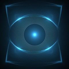 eye for surveillance vigilance and observation