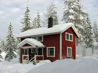 Winter in Dalarna