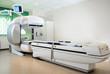 Leinwandbild Motiv Equipment in oncology department. Nuclear Medicine