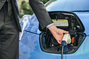 Eco car charging operation