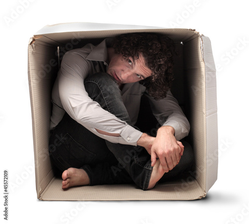 Crouched in a Box