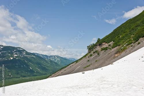 Вид со склона Вилючинского вулкана (Камчатка)
