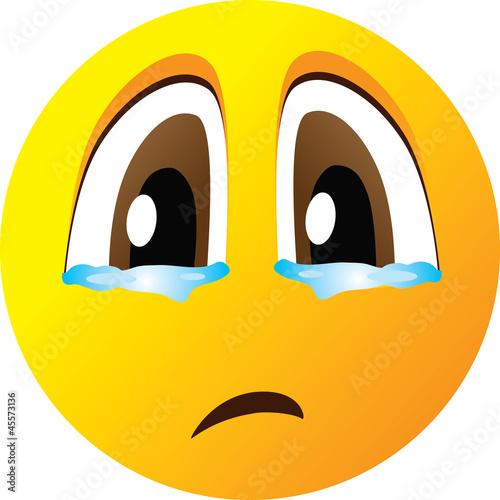 грустный смайлик фото: