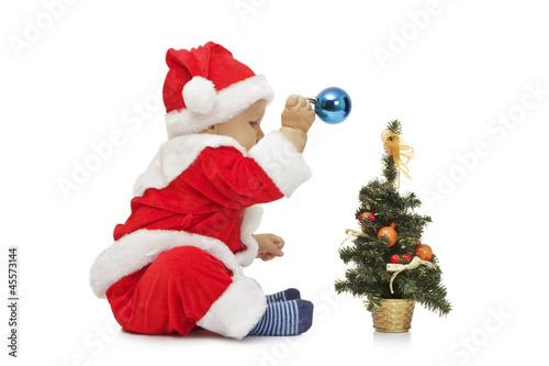 Small cute santa