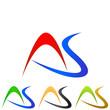 A. S. Company Logo