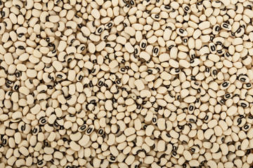 Black eyes peas beans background texture