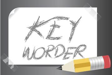 keyworder vector