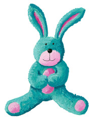 Cute rabbit toy