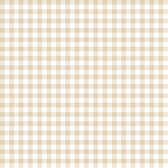 Seamless Check Pattern Beige/White