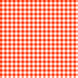 Seamless Check Pattern Red/White