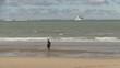 cavalière face aux côtes anglaise pas de calais