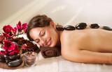 Spa. Hot Stone Massage. Dayspa poster