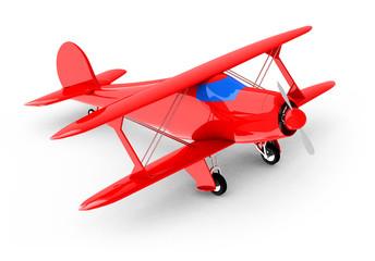 Das Propellerflugzeug