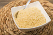 Farofa - Manioc flour cooked with butter. Brazilian side dish