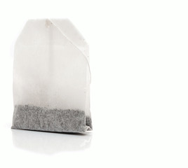 teabag isolated on white