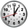 1 bw clock