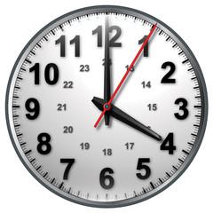 4 bw clock