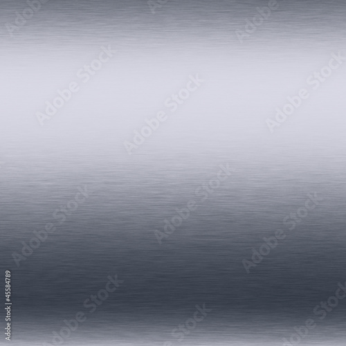 white silver metal background brushed shiny chrome plate texture
