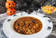 Halloween Spiders Enjoying Chili
