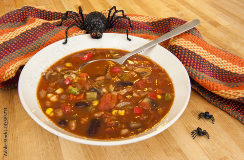 Halloween Spider with Chili