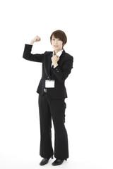 女性・スーツ