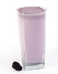 Black Berry Milk Shake