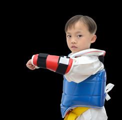 Teakwondo boy
