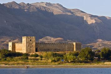 Fragokastelo castle at Crete island in Greece