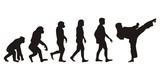 Vom Affen zum Karate Tiger (Menschen)