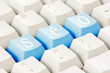 SEO buttons on the keyboard